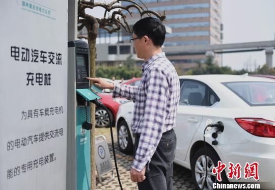 中国电动汽车充电基础设施运行良好