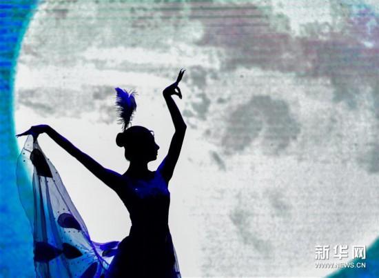 (新华视界)(2)中国残疾人艺术团公益巡演献艺青海