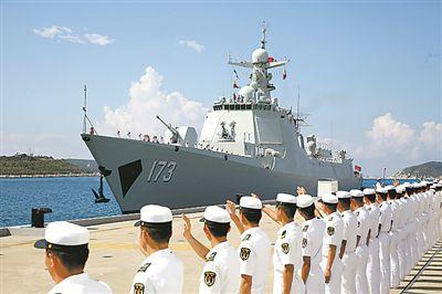 长沙舰·见证改革的足迹