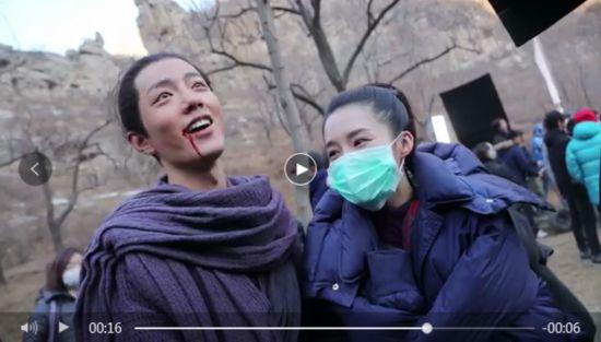 肖战搂李沁脖子显亲昵 两人被传绯闻是真的吗?