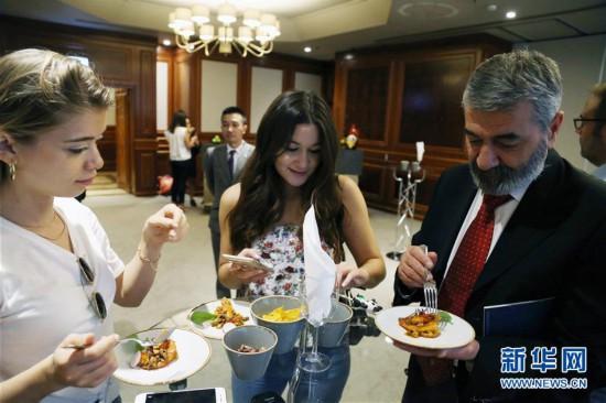 (国际)(3)土耳其举行成都美食文化节