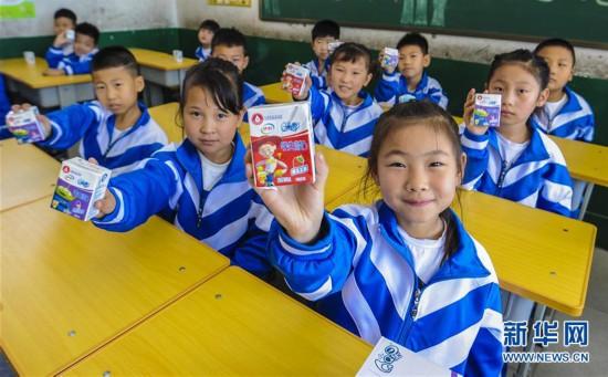 """(教育)(1)龙虎计划软件免费版,河北霸州:6万农村小学生吃上""""暖心课间餐"""""""