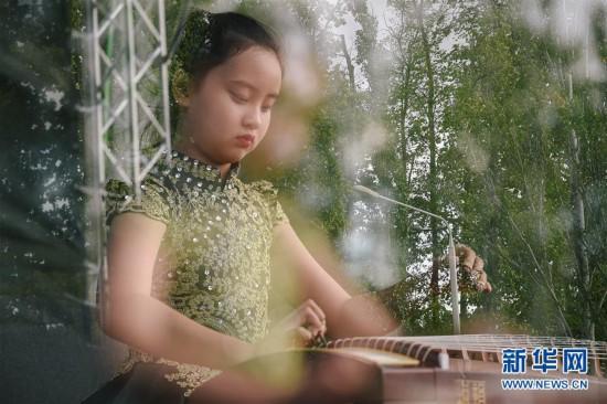 """(国际)(5)中俄民众莫斯科共庆""""中国文化节"""""""