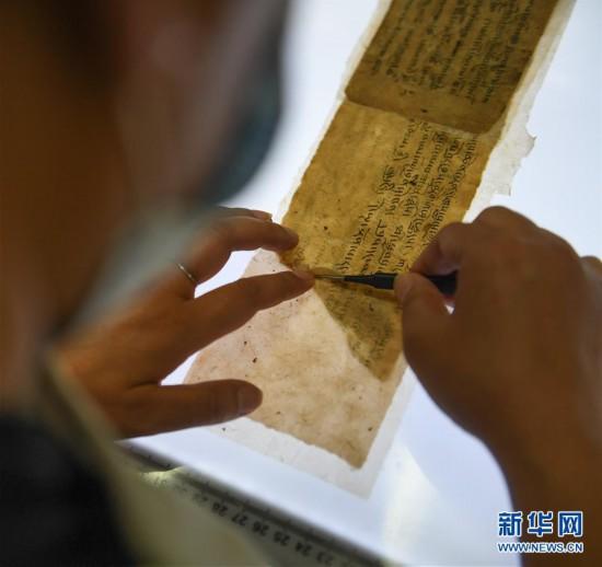 (文化)(2)西藏修复3000余页珍贵濒危古籍文献