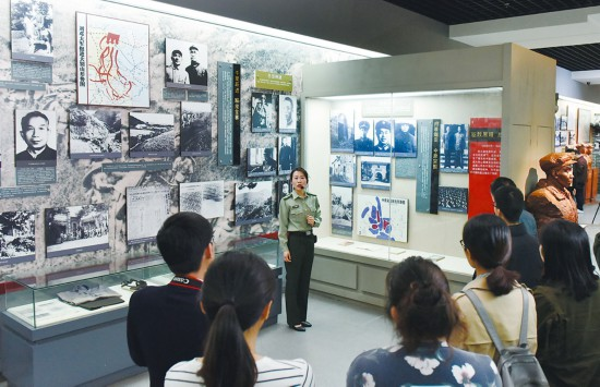 【70年安徽影像】红色印记熠熠生辉 革命精神代代相传
