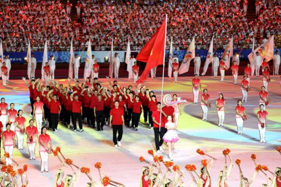 【第十一屆全國民族運動會】寧夏代表團在第十一屆全國民族運動會上取得歷史最好成績