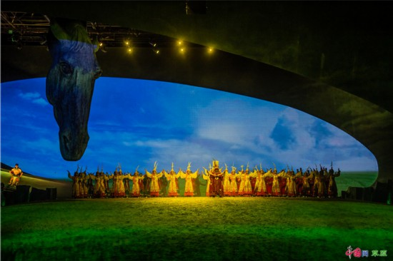 88场演出近10万观众 大型室内情景马剧《蒙古马》2019完美谢幕
