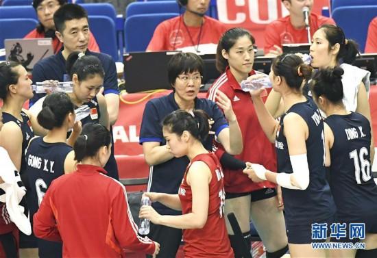 (体育)(5)排球――女排世界杯:中国队对阵俄罗斯队