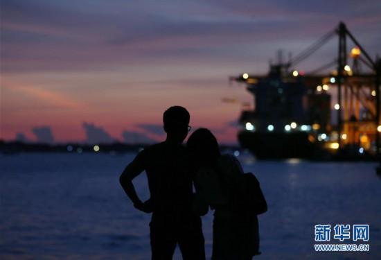 (视・觉)夕阳下的浪漫