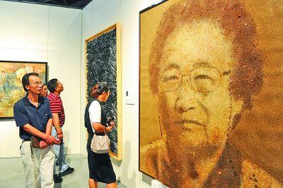 全国美展综合材料绘画展在宁波举办