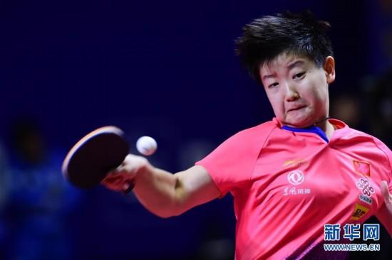 (体育)(8)乒乓球――亚锦赛:中国女队夺团体冠军