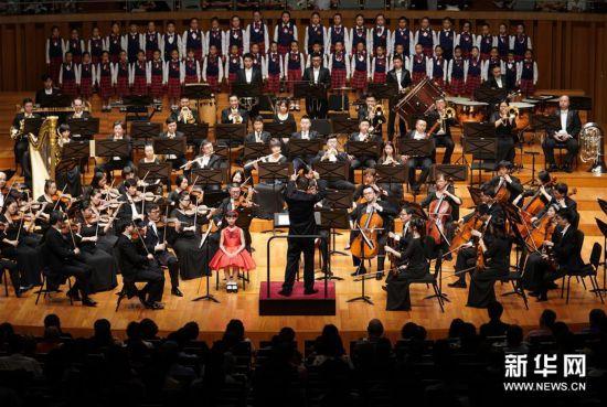(文化)(1)国家大剧院上演《祖国畅想曲》
