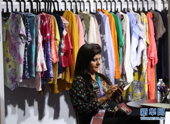 (国际)(2)巴黎中国纺织品服装贸易展树立中国品牌新形象