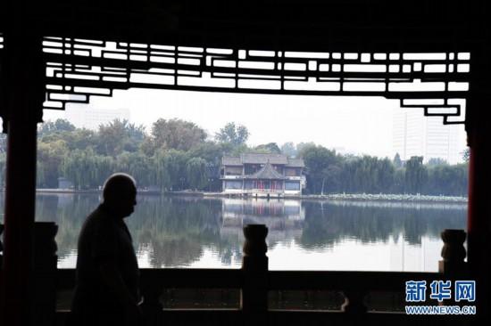 """(环境)(3)""""水墨""""大明湖"""