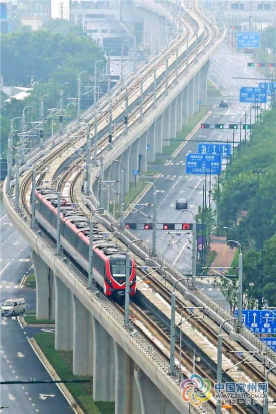 常州轨道交通1号线9月21日正式开通 起步价2元