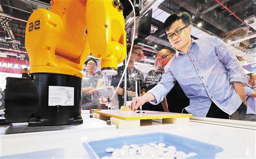 工博会展示数字工业未来
