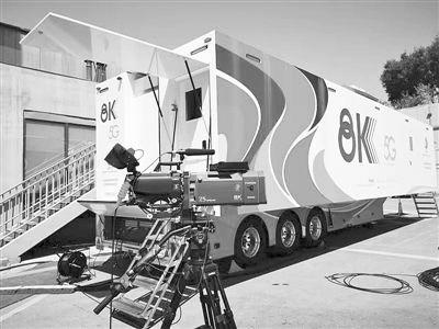 """北京首次对赛事开展""""5G+8K""""技术直播试播的示范应用"""