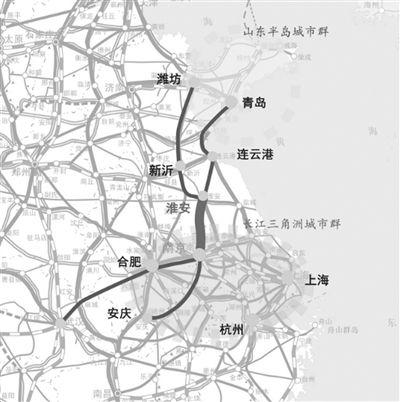21日江苏宁淮铁路开工4年后南京淮安1小时通达