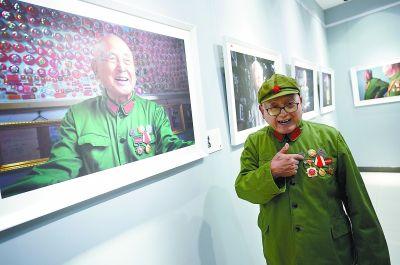 每幅老兵肖像背后,都是一个传奇