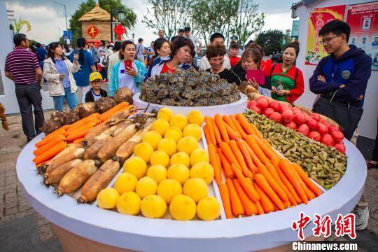 江苏兴化举办农民丰收节 鱼米水乡风采尽显