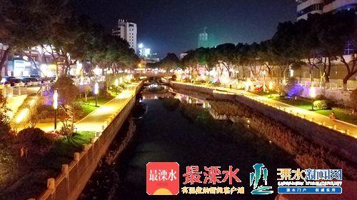 河道活起来 南京溧水护城河生态修复工程完工