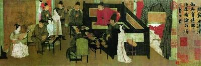 《韩熙载夜宴图》中的叉手礼