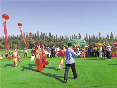 宁夏农民丰收节妙趣横生