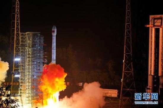 """(图文互动)(2)我国成功发射两颗北斗三号卫星 北斗系统""""一箭双星"""""""