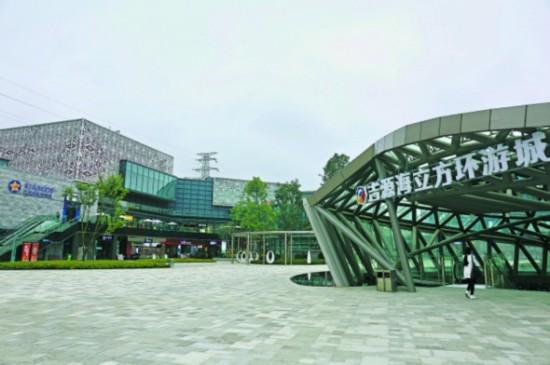 泉湖广场项目完成九成工程量