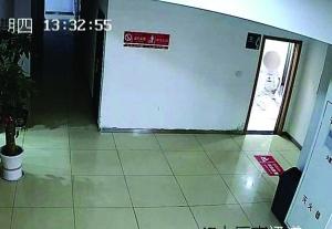 """南京男子进女厕所偷拍 被抓后称""""是想蹭网"""""""