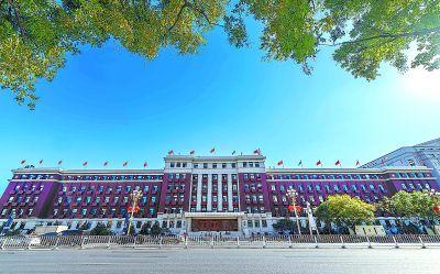 长安街最老当代建筑披新衣