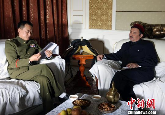 新疆和平解放70年央视强档播出电影《和平将军陶峙岳》