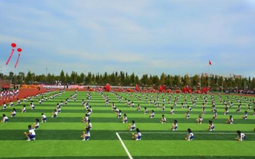 打造洋溢生命色彩的课程献礼新中国七十华诞