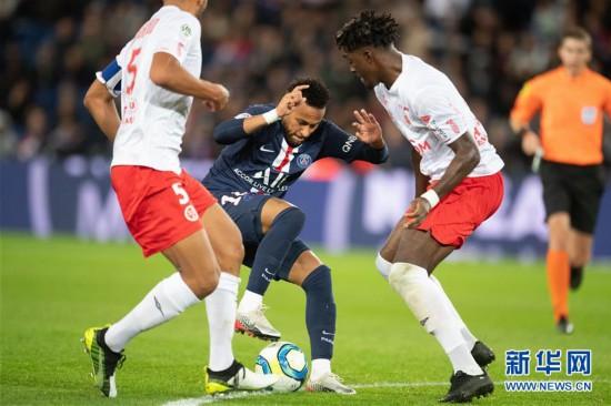 (体育)(8)足球――法甲:巴黎圣日耳曼不敌兰斯