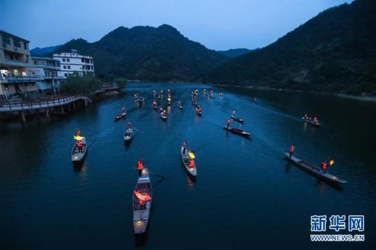 """(美麗中國)(3)""""漁舟唱晚""""助力特色鄉村旅游"""