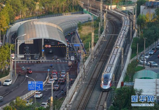 京雄城际铁路北京西至大兴机场段开通运营