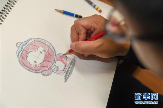 """(体育)(1)探访北京2022年冬残奥会吉祥物""""雪容融""""设计团队"""