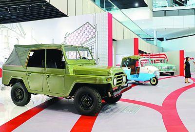"""上海汽车博物馆举办""""国车生活展"""""""