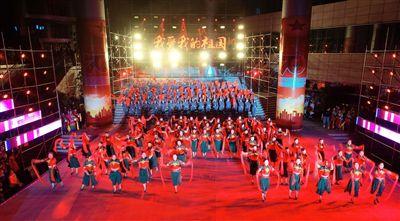南通海安社會各界群眾慶祝新中國成立70周年