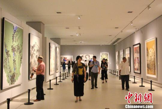 604件中国画佳作汇聚全国美展 用艺术语言展?#20013;?#26102;代风貌