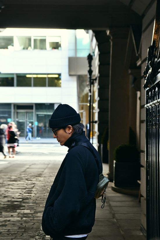 澳门葡京娱乐:陈坤漫步伦敦街头品味秋日暖阳