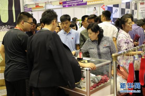(国际·图文互动)(1)中国产品在平壤秋季国际商品展上热销