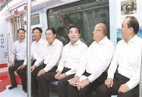"""徐州城市轨道交通1号线开通 迈入""""地铁时代"""""""
