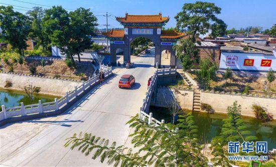 (社会)(6)河北阜城:大皇庄村的美丽蝶变
