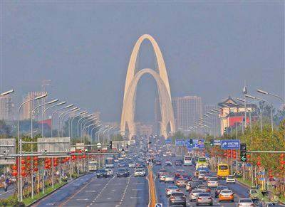长安街西延新首钢大桥正式开通