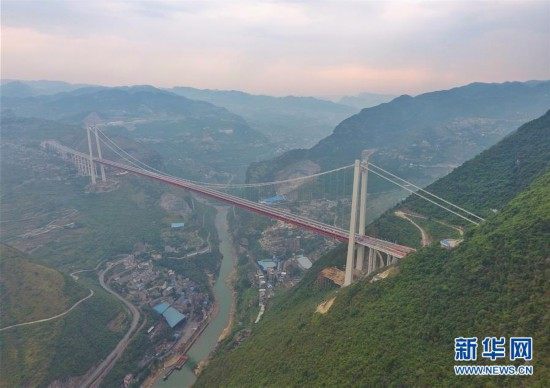 (社会)(1)乐福网彩票时时彩登录,川黔大通道赤水河红军大桥全面建成