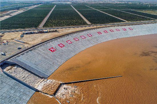 黄河水流入西夏水库!银川都市圈城乡西线供水工程水源部分贯通