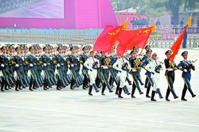威武之师展示中国力量国庆70周年阅兵参阅将军人数创历次之最