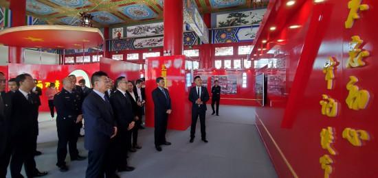 盐池县举办庆祝中华人民共和国成立70周年成就展