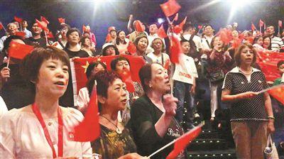北京16家影院同步看阅兵 观众:更有仪式感